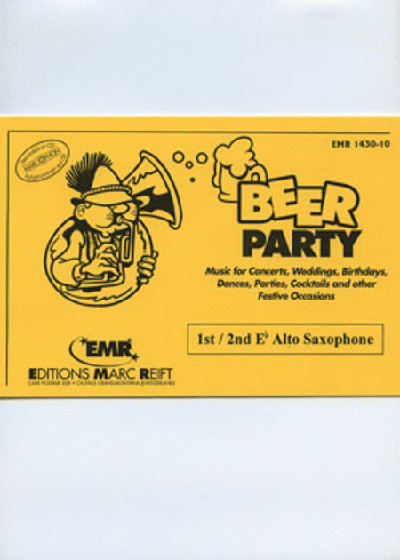 Beer Party - 1st/2nd Eb Alto Saxophone