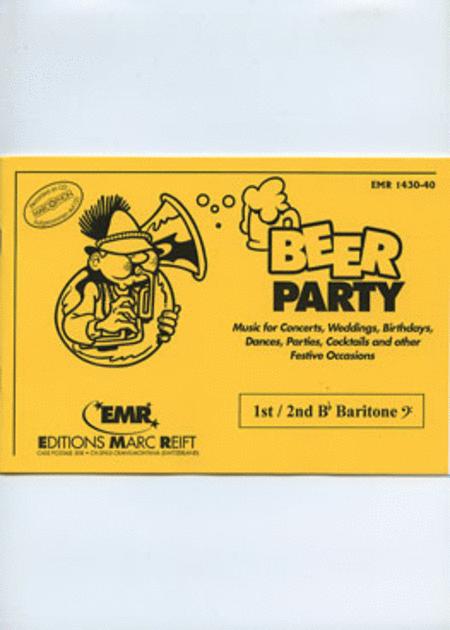 Beer Party - 1st/2nd Bb Baritone BC