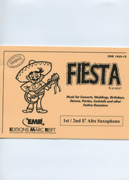 Fiesta - 1st/2nd Eb Alto Saxophone