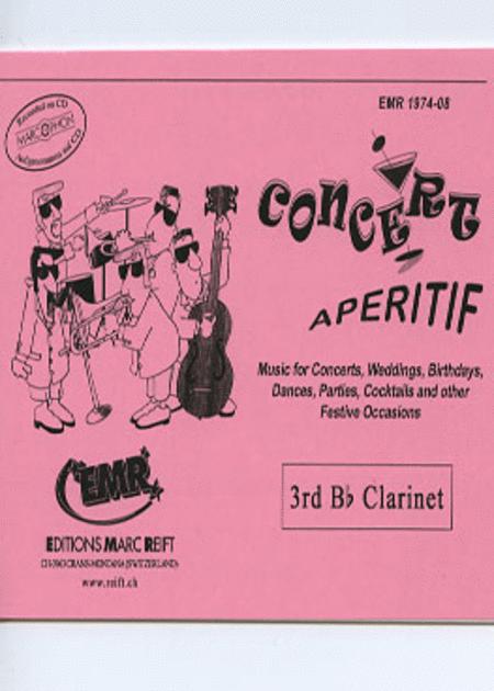 Concert Aperitif - 3rd Bb Clarinet
