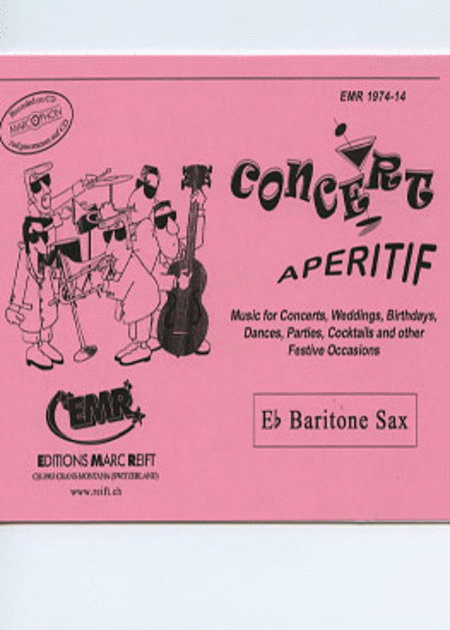 Concert Aperitif - Baritone Saxophone