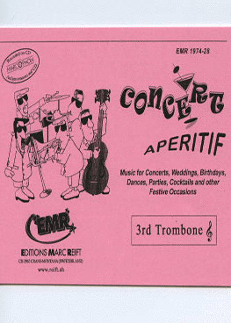 Concert Aperitif - 3rd Bb Trombone TC