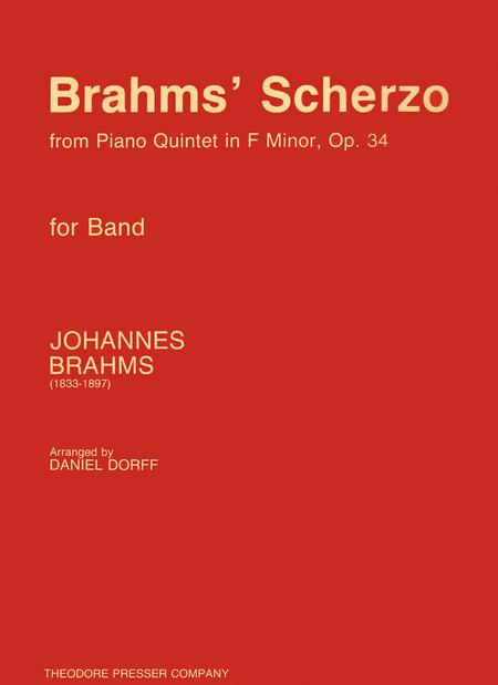 Brahms' Scherzo from Piano Quintet in F Minor, Op. 34