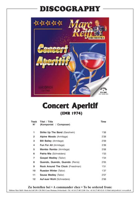 Concert Aperitif - Bass Guitar