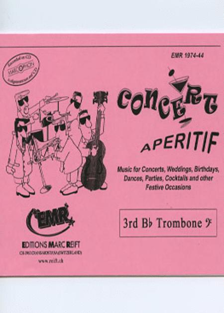 Concert Aperitif - 3rd Bb Trombone BC