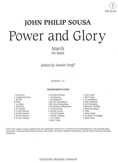 Power And Glory