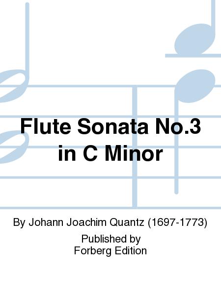 Flute Sonata No. 3 in C Minor