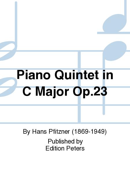 Piano Quintet in C Major Op.23