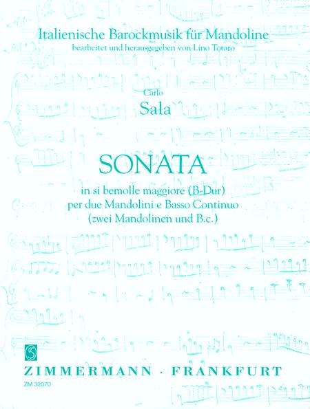 Sonata per due Mandolini and Basso Continuo