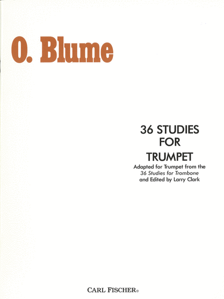 36 Studies For Trumpet