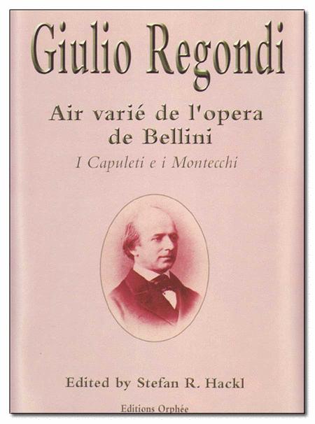 Air Varie De L'opera De Bellini