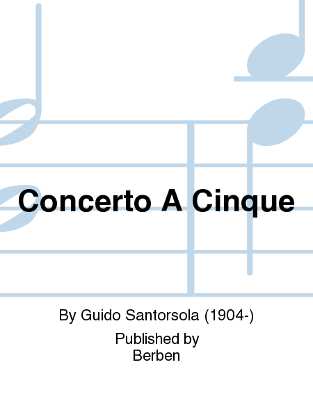 Concerto a Cinque