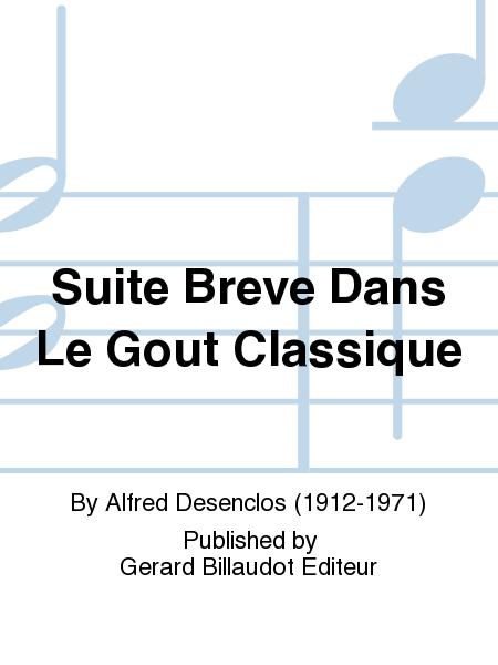 Suite Breve Dans Le Gout Classique