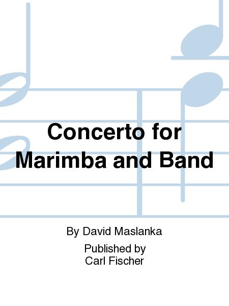 Concerto For Marimba And Band