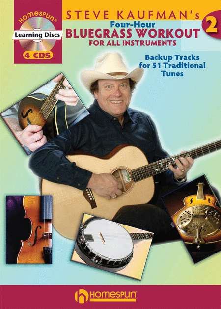 Steve Kaufman's Four-Hour Bluegrass Workout - Series Two