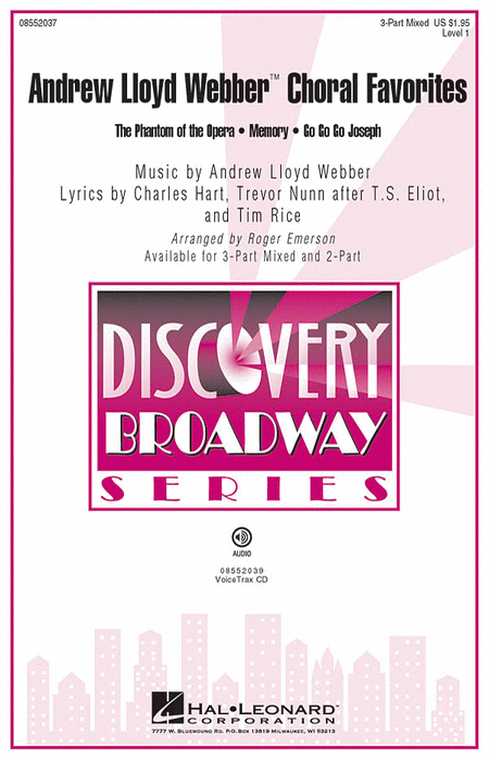 Andrew Lloyd Webber Choral Favorites