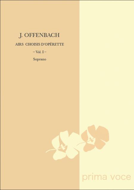 Airs Choisis d'Operette: Volume I, Soprano