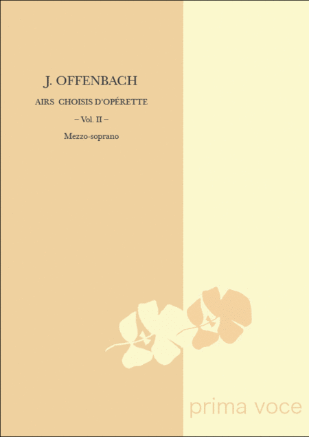 Airs Choisis d'Operette: Volume II, Mezzo-soprano
