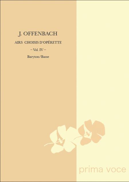 Airs Choisis d'Operette: Volume IV, Baryton/Basse