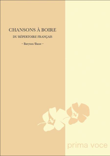 Chansons a Boire du Repertoire Francais: Baryton/Basse
