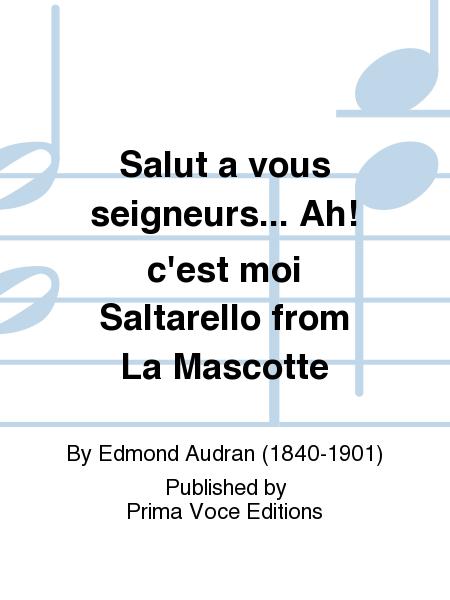 Salut a vous seigneurs... Ah! c'est moi Saltarello from La Mascotte