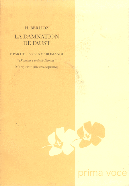 D'amour l'ardente flamme from La Damnation de Faust