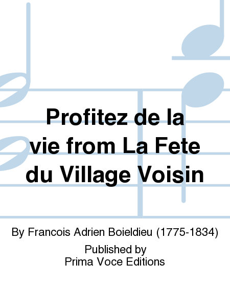 Profitez de la vie from La Fete du Village Voisin