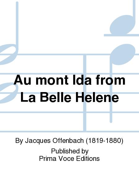 Au mont Ida from La Belle Helene