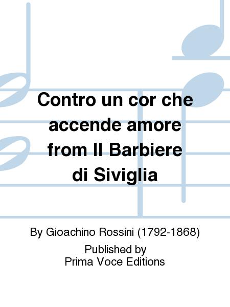 Contro un cor che accende amore from Il Barbiere di Siviglia