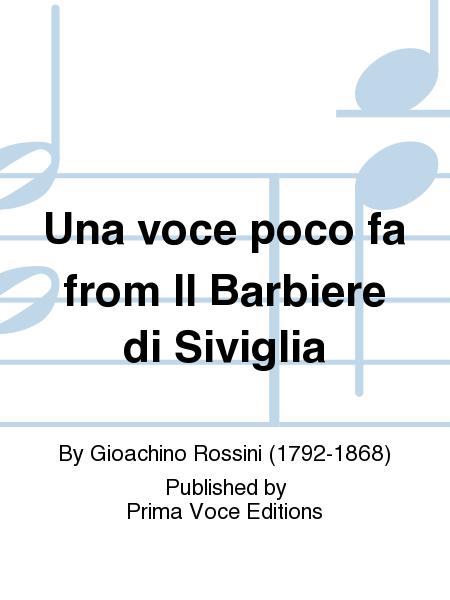 Una voce poco fa from Il Barbiere di Siviglia