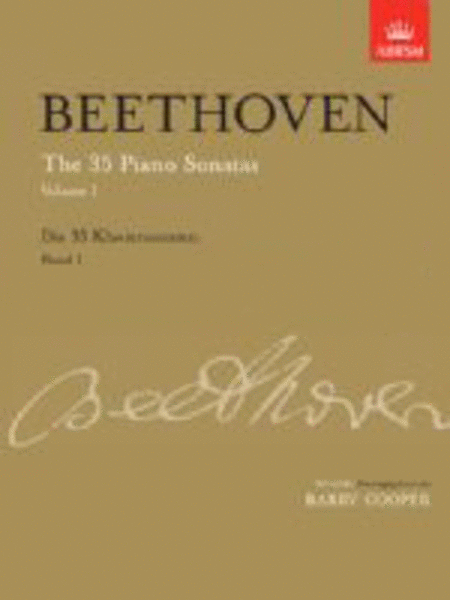 The 35 Piano Sonatas Volume 1