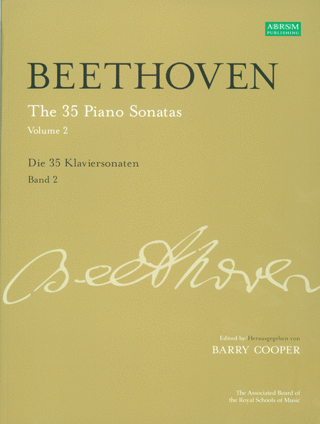 The 35 Piano Sonatas, Volume 2