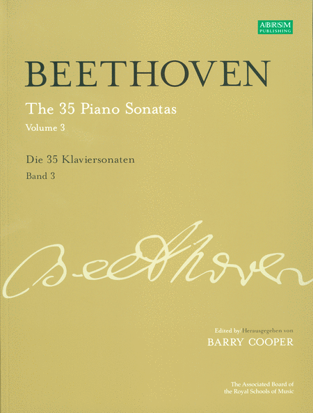 The 35 Piano Sonatas Volume 3