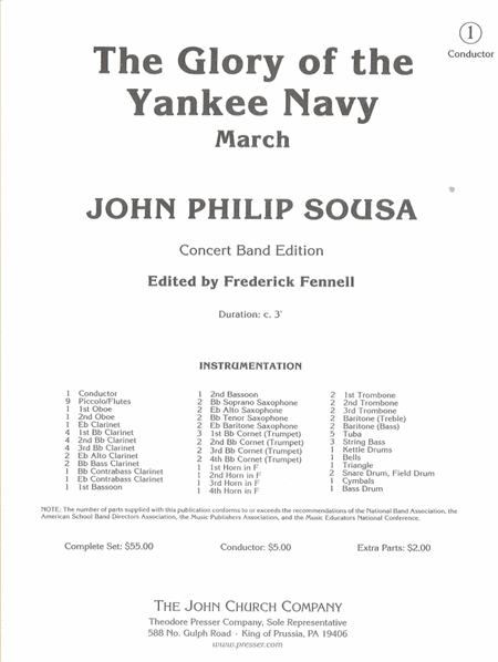 The Glory of the Yankee Navy