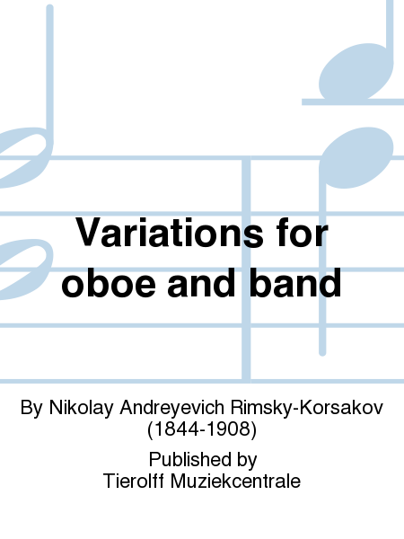 Variations for oboe and band