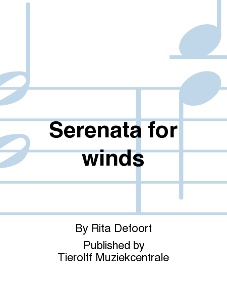 Serenata for winds