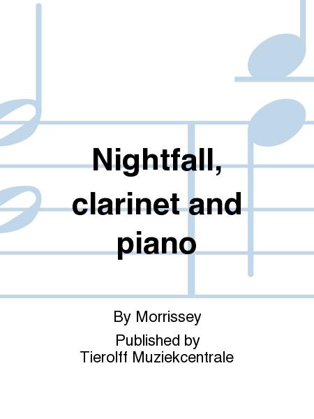 Nightfall, clarinet and piano