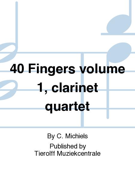 40 Fingers volume 1, clarinet quartet