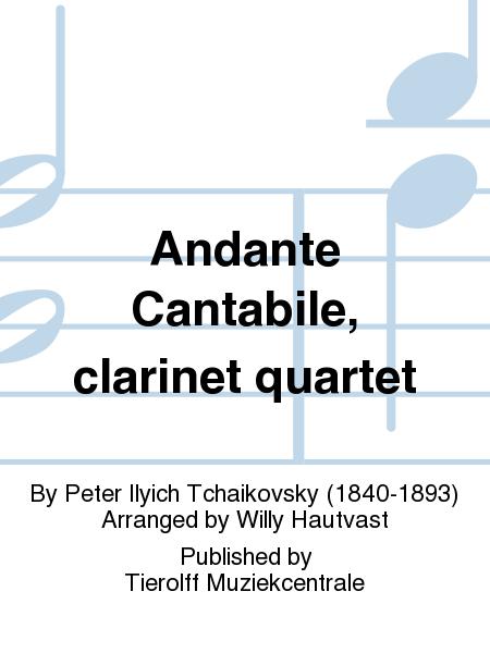 Andante Cantabile, clarinet quartet