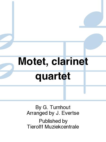 Motet, clarinet quartet