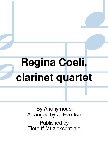 Regina Coeli, clarinet quartet