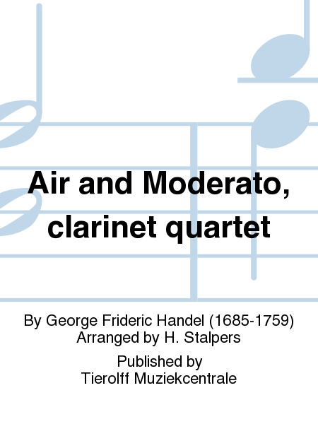 Air and Moderato, clarinet quartet