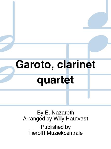 Garoto, clarinet quartet
