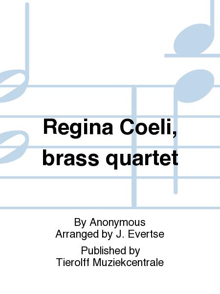Regina Coeli, brass quartet