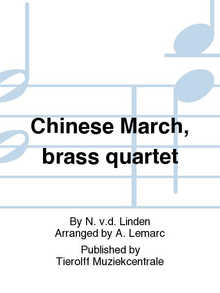 Chinese March, brass quartet