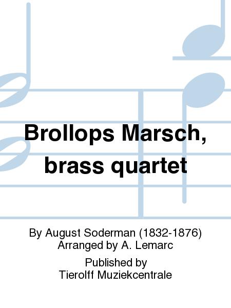 Brollops Marsch, brass quartet