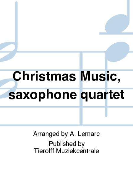 Christmas Music, saxophone quartet