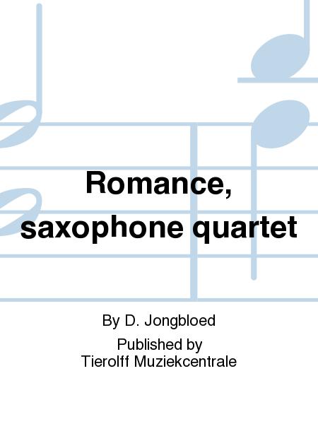 Romance, saxophone quartet
