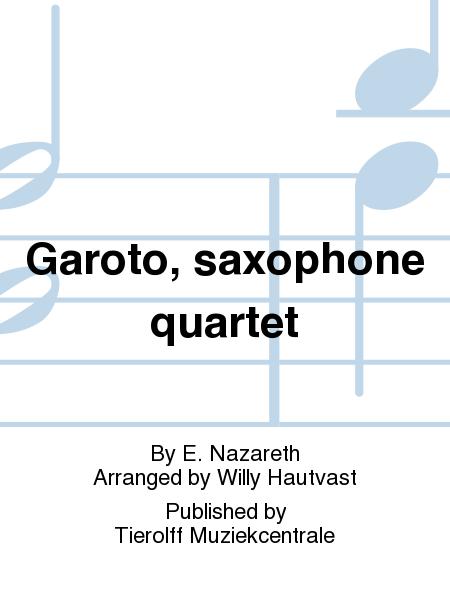 Garoto, saxophone quartet