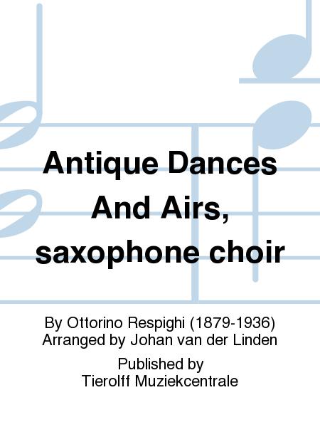 Antique Dances And Airs, saxophone choir